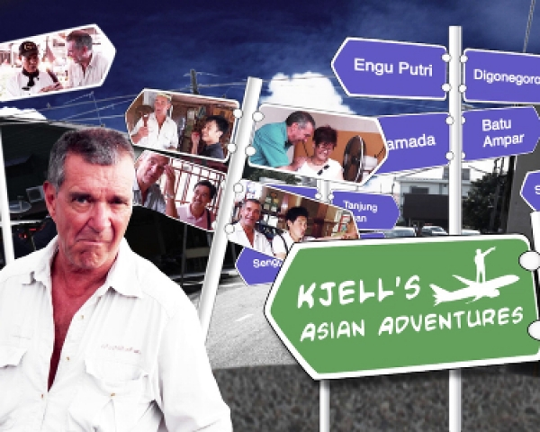 KJELL'S ASIAN ADVENTURES (Travelogue)