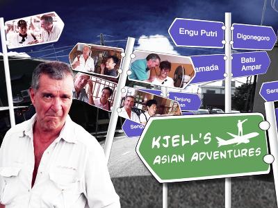 KJELL'S ASIAN ADVENTURES (Travelogue)